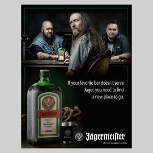 Jägermeister spec work - this represents what I want to do most © Michael Warth
